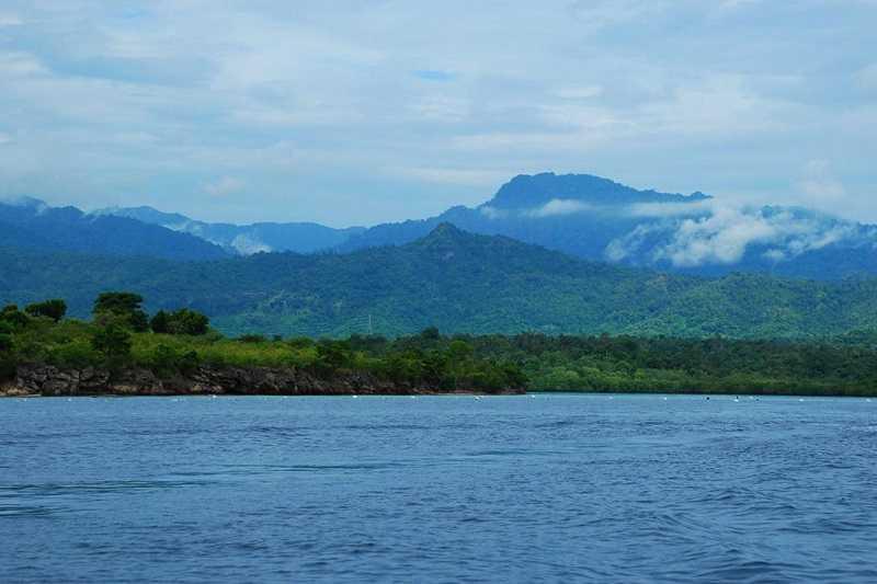 Бали залив Гилиманук