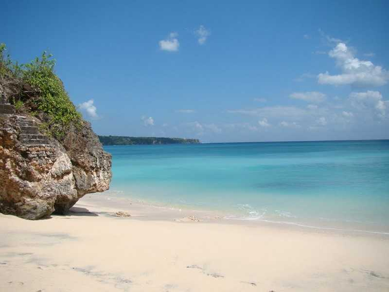 Бали пляж на острове Манджанган