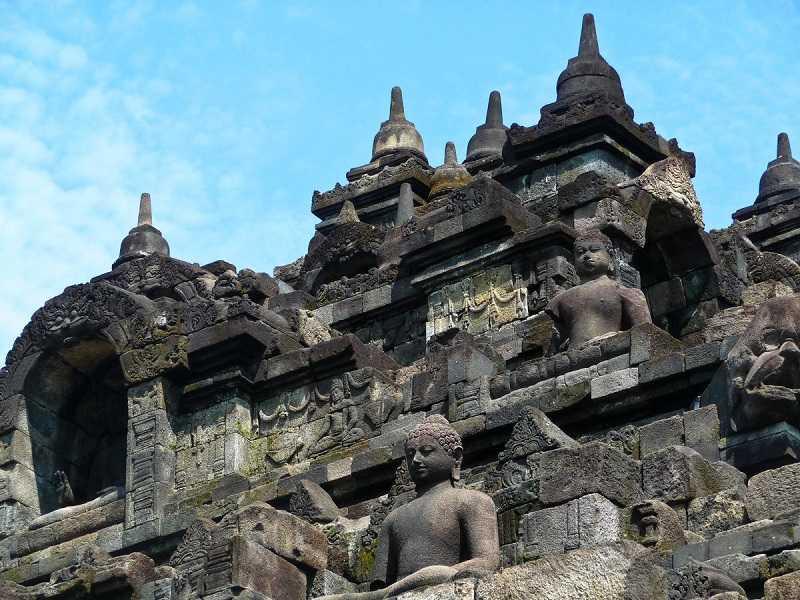 храм Боробудур в Индонезии1