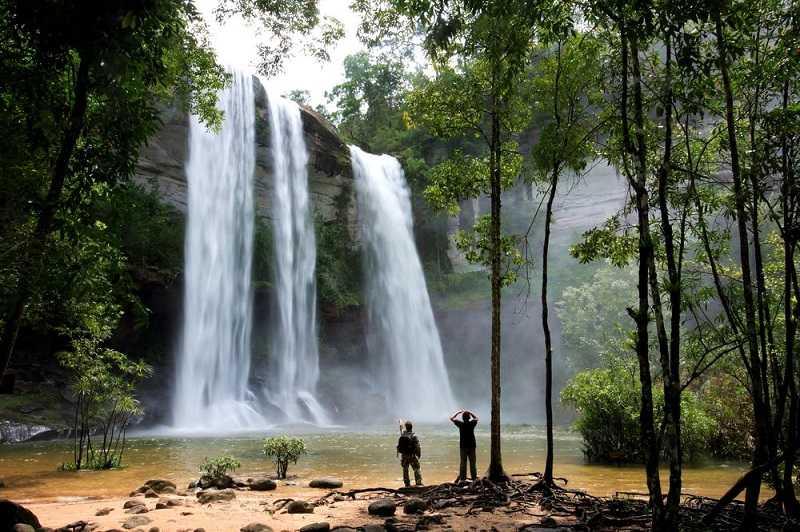 Водопад-Бангпэ на Пхукете