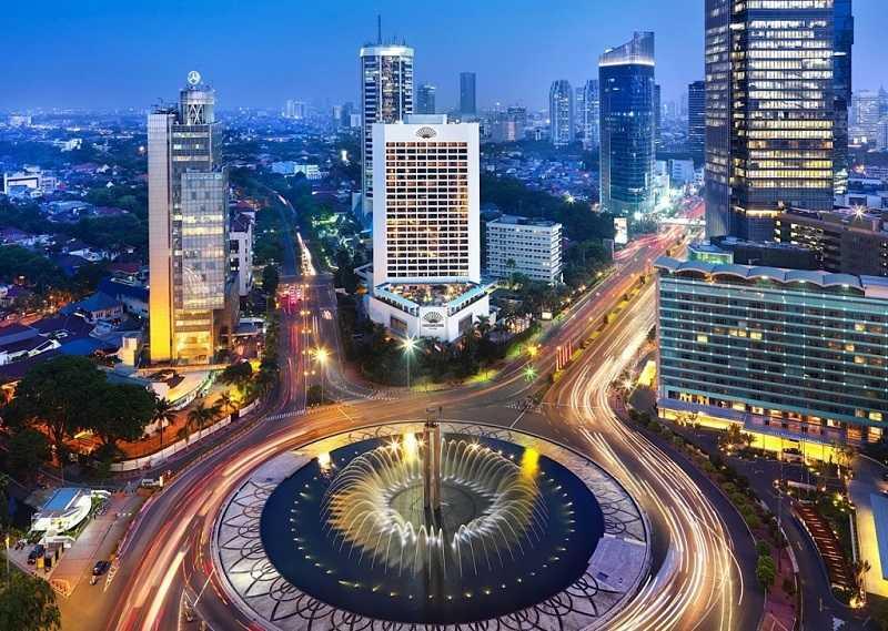 Крупные города Индонезии