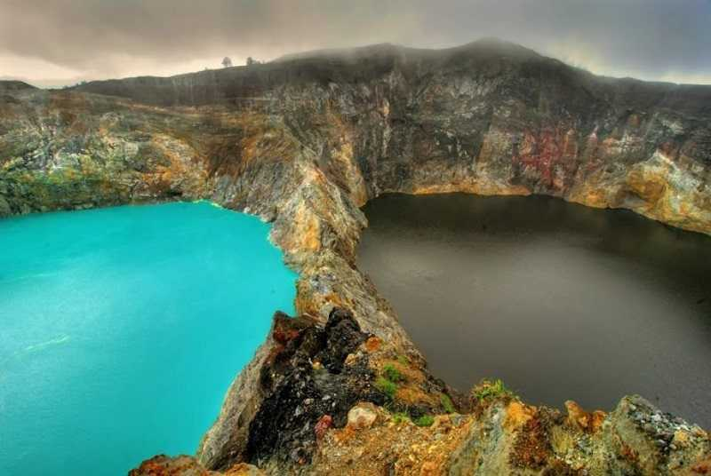 Индонезия гора Келимуту