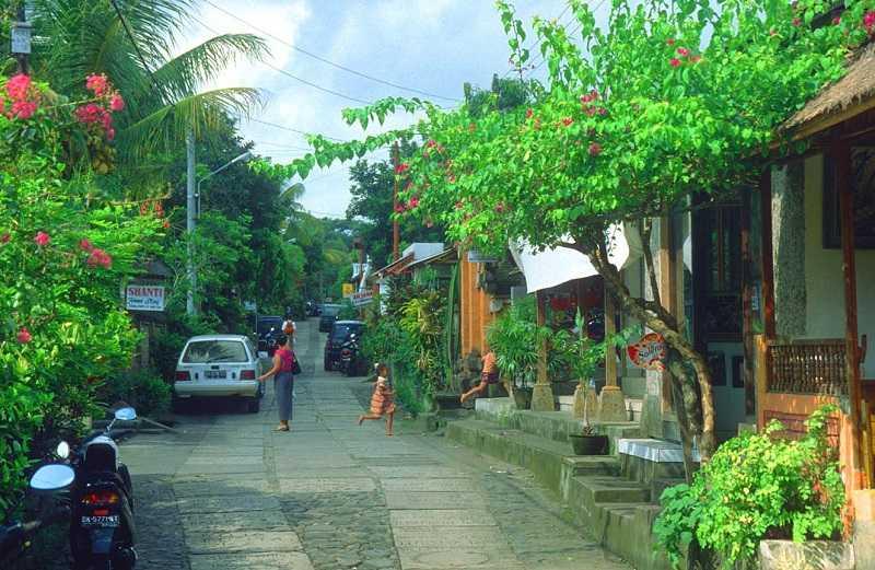 Индонезия город Убуд