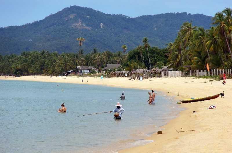 Маи Нгам,суринские острова