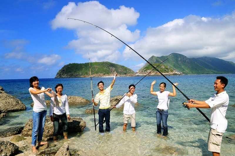 Остров Фукуок Морская рыбалка