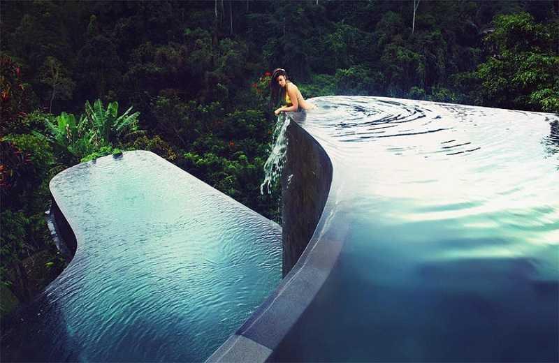Отель Висячие сады бассейн