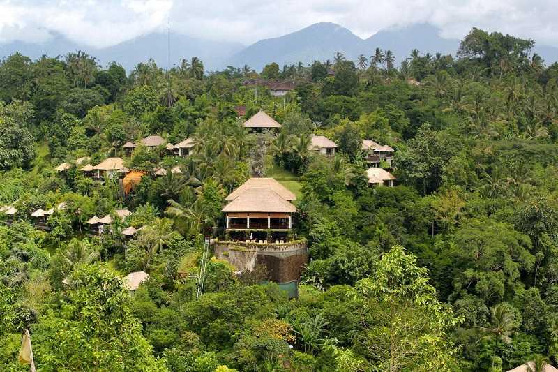 Отель Висячие сады в Убуде