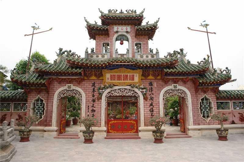 Пагода Чук-Тхань достопримечательности Хойана