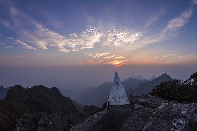 Индокитая гора Фансипан