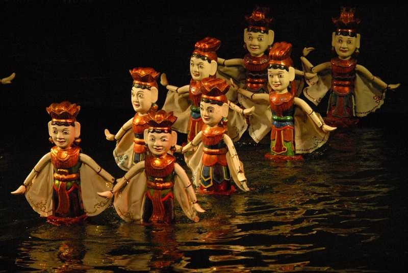 Ханой театр кукол на воде