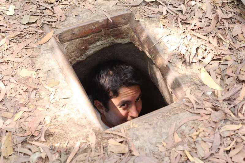 подземные партизанские тоннели