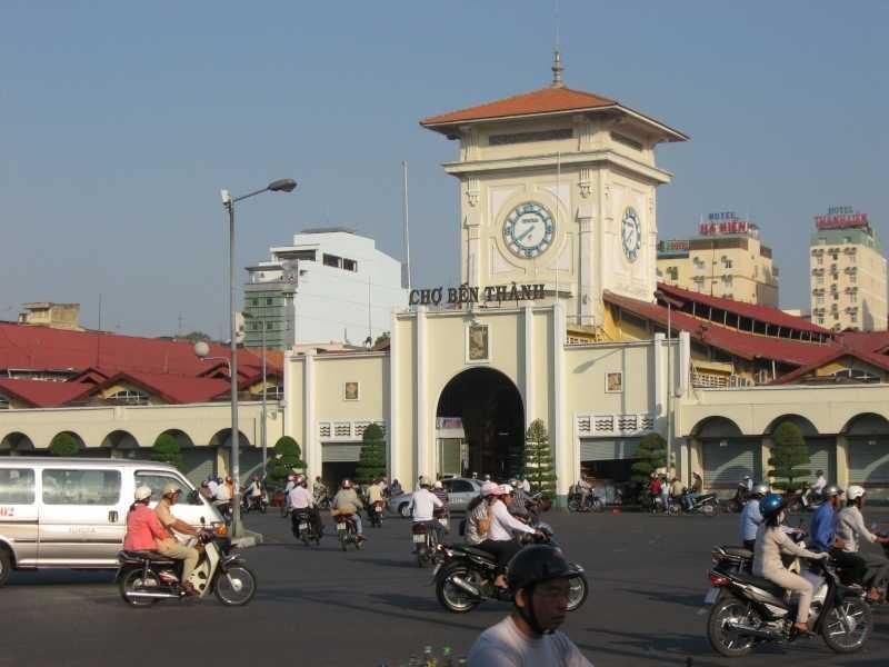 Хошимин рынок Бен Тхань