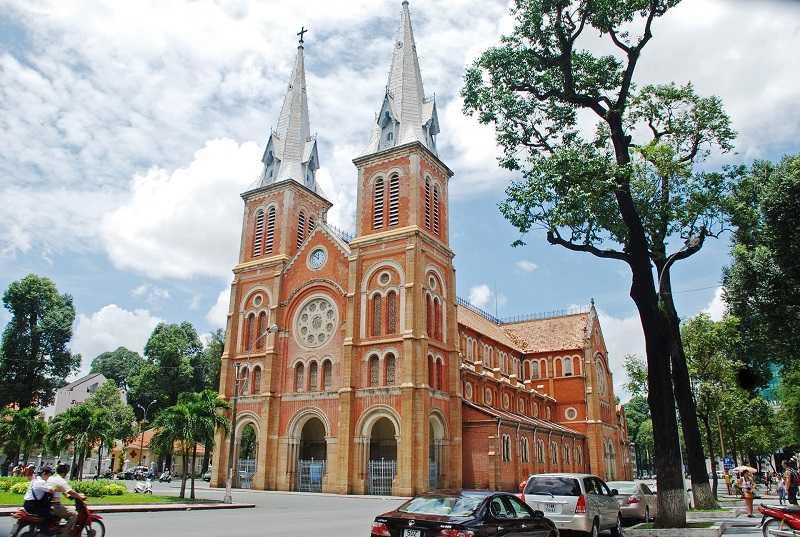 собор Нотр Дам де Сайгон