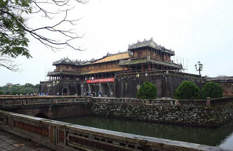 пурпурный запретный город,достопримечательности Хюэ