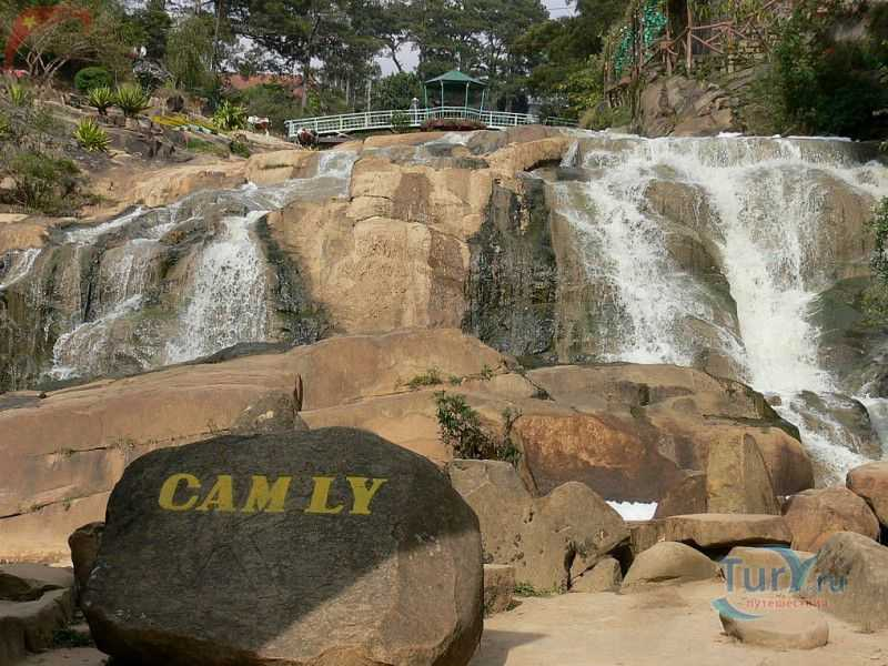 водопад Кам ли в далате