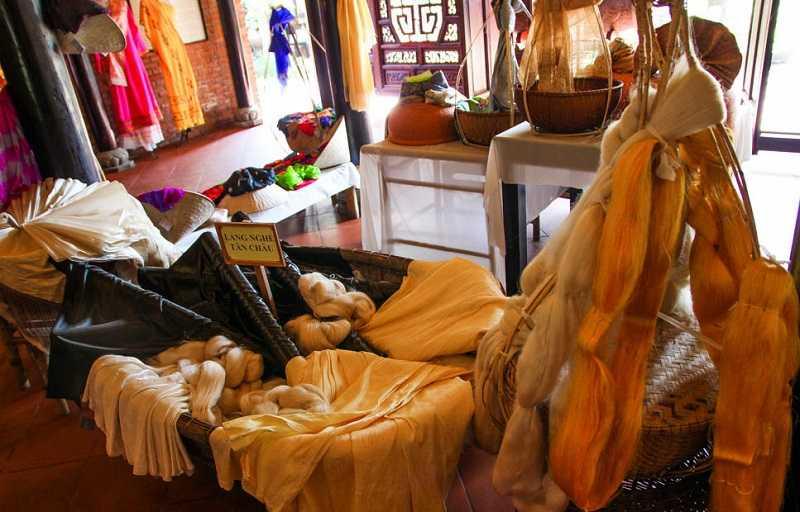 плетение шелка