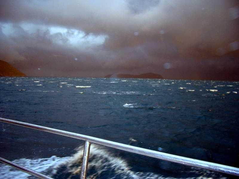 сезон дождей на суринских островах
