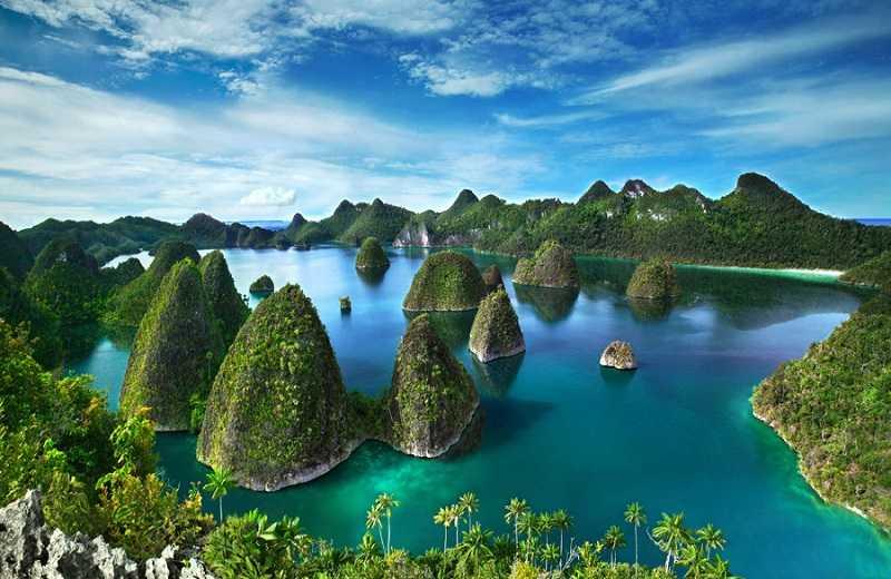 индонезия острова Раджа Ампат