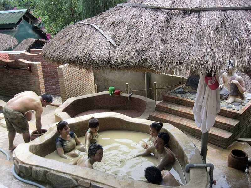 источника грязи Тхап ба