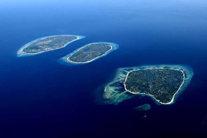 Острова Гили траванган мено эйр
