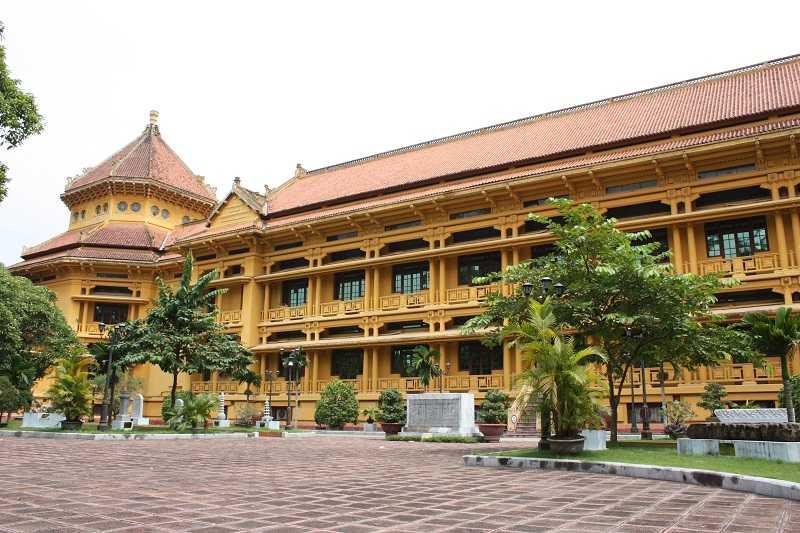 национальный музей вьетнамской истории