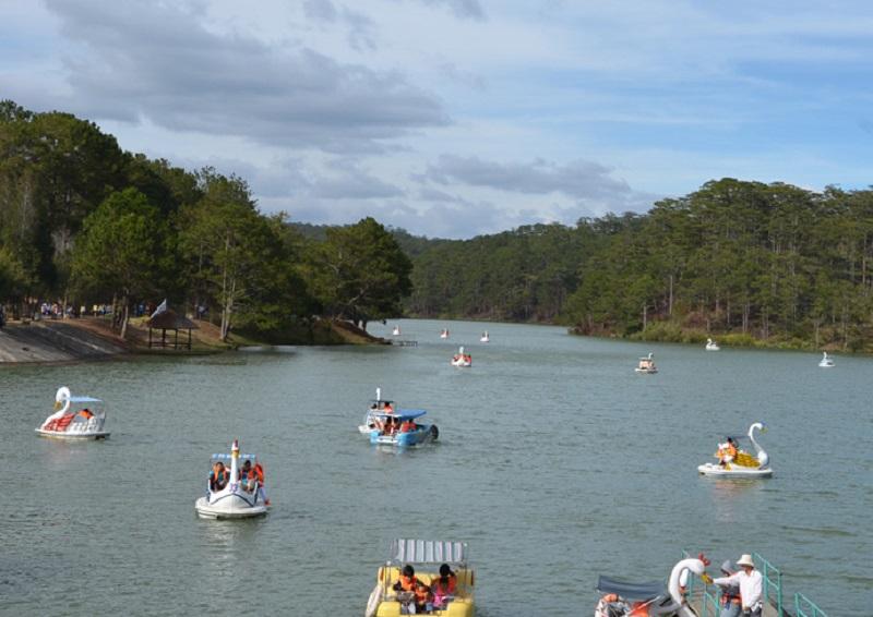 озеро Да Тьен
