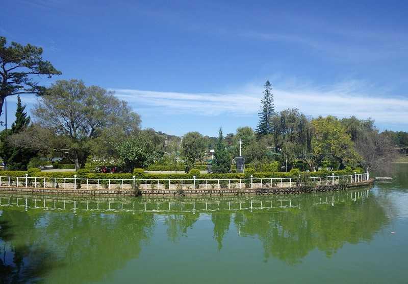 озеро Суан хыонг далат
