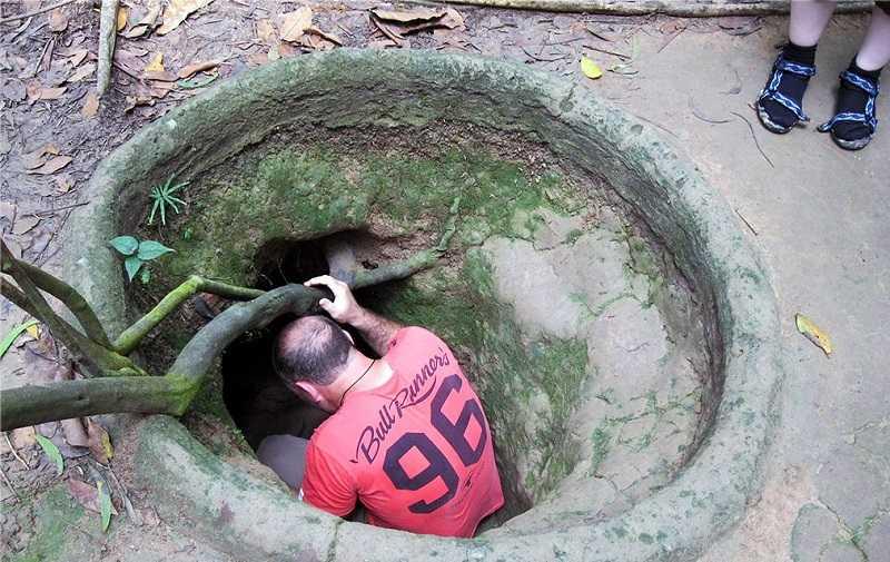 осмотр тоннелей кучи