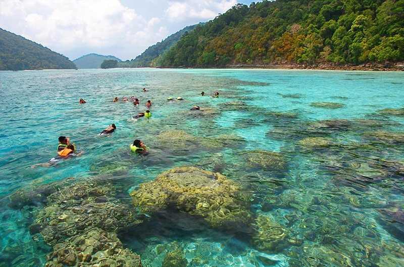 остров Ko Сурин Нуа