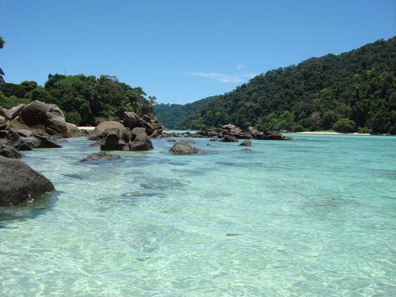 остров Ko Сурин Таи