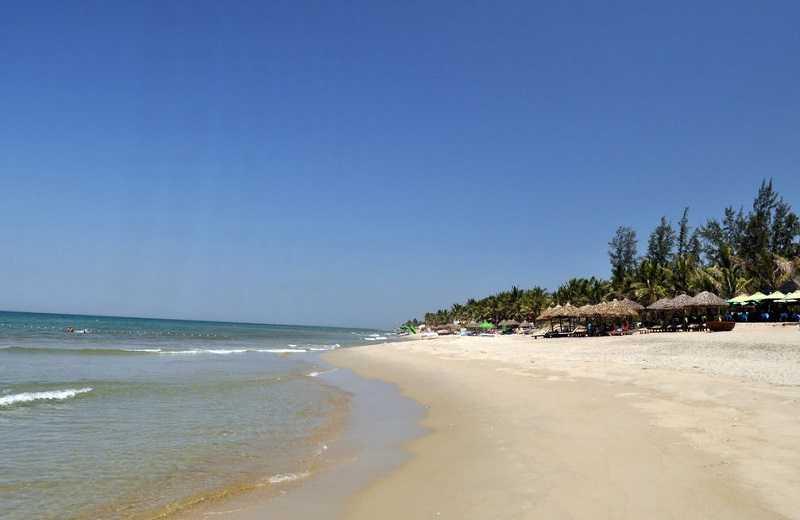 пляж Куа Да Хойан Вьетнам