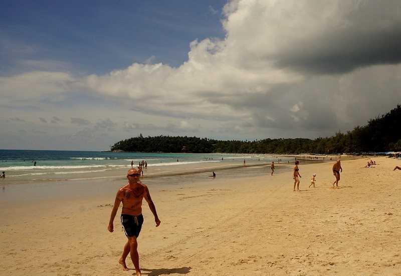 пляж Тао,суринские острова