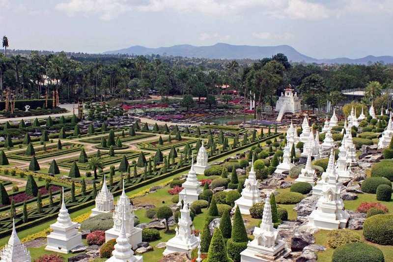 тропический сад Нонг Нуч1