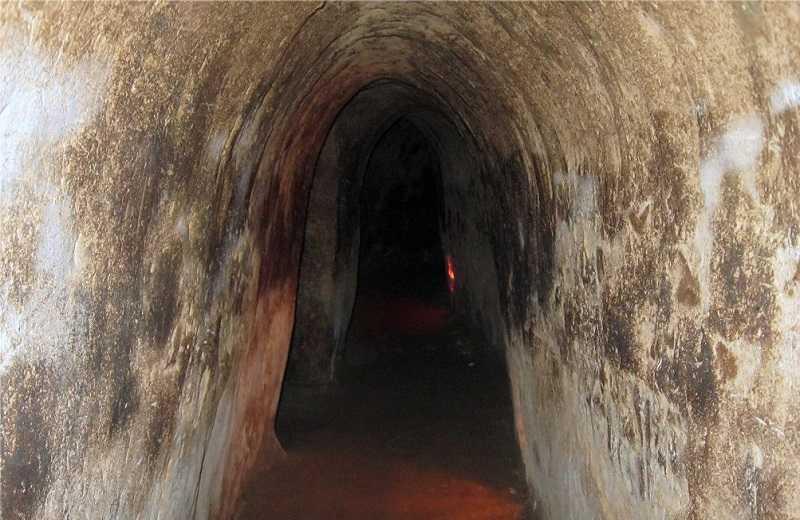 туннелях Кучи,тоннели Кути достопримечательности Хошимина