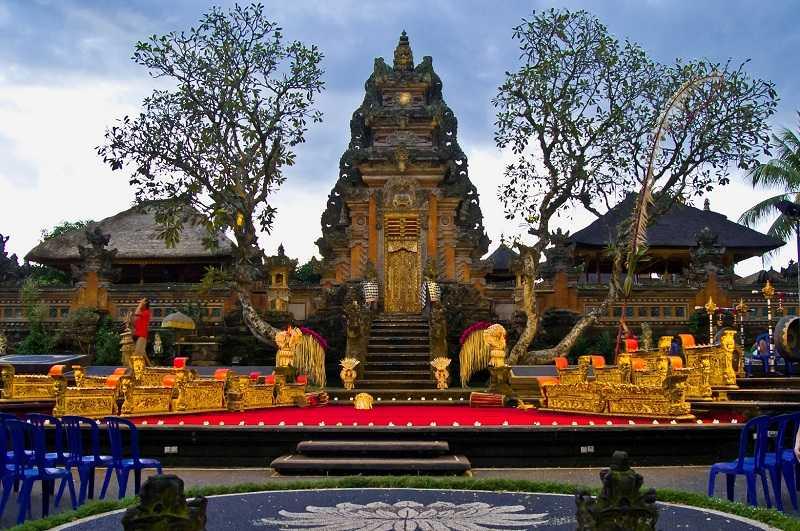 убуд Дворец Пури Сарен Агунг
