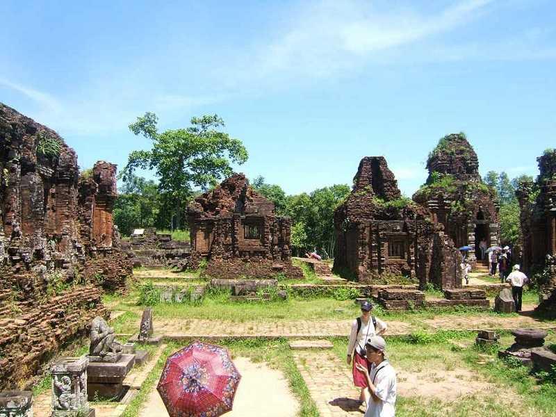 Руины Мишон Достопримечательности Дананга