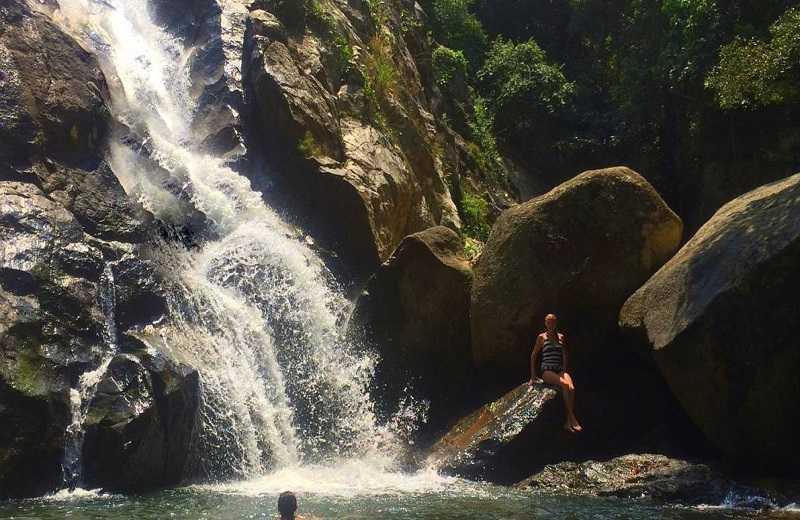 водопады острова самуи хин лад