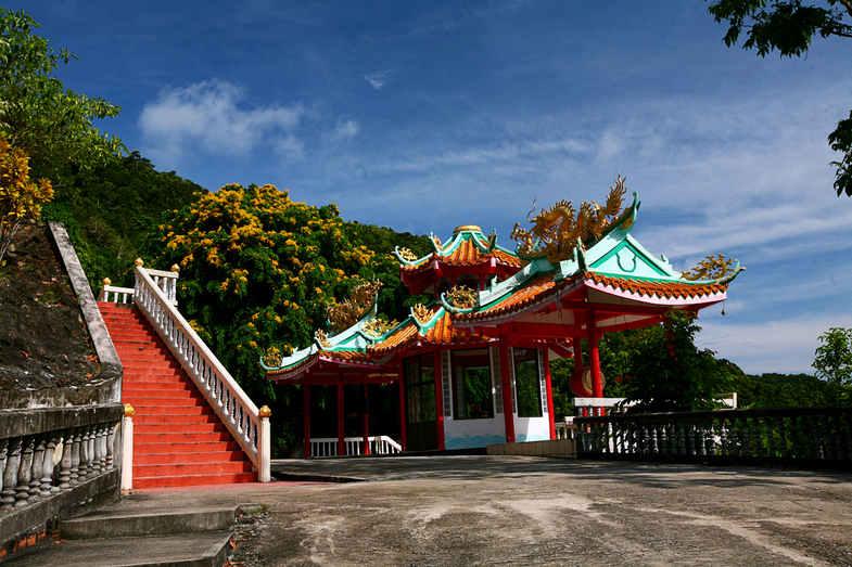 китайский храм Гуань Инь на пангане