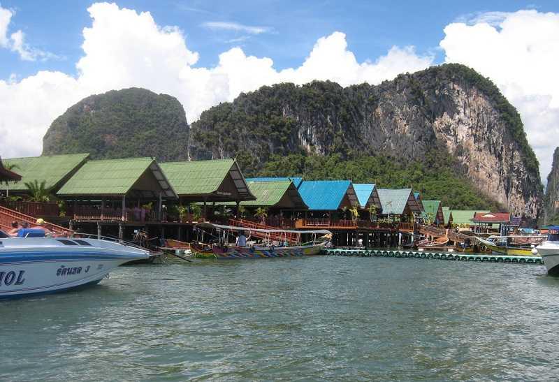 Цыганская деревня на воде