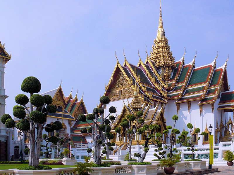 Большой королевский дворец бангкок
