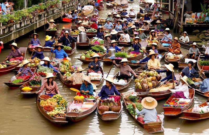 плавучий рынок