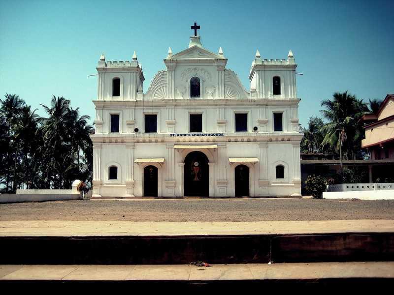 Агонда Церковь Святой Анны