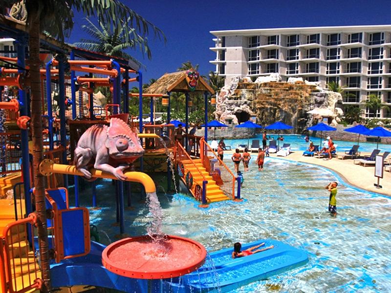 Аквапарк splash jungle Пхукет детская зона