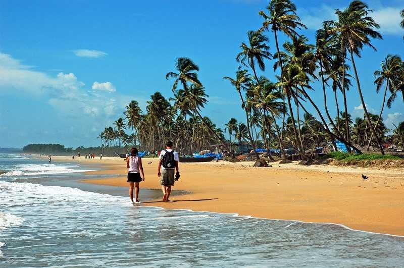 Анджуна, пляж