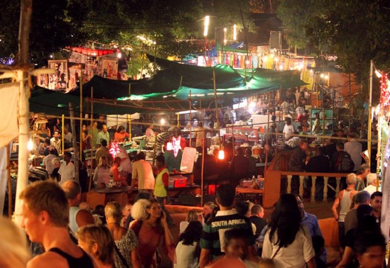Арпора ночной рынок