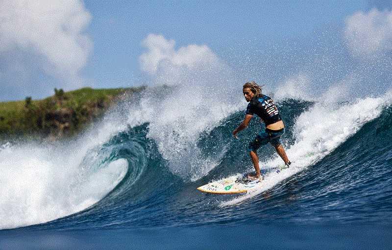 Баланган на Бали серфинг