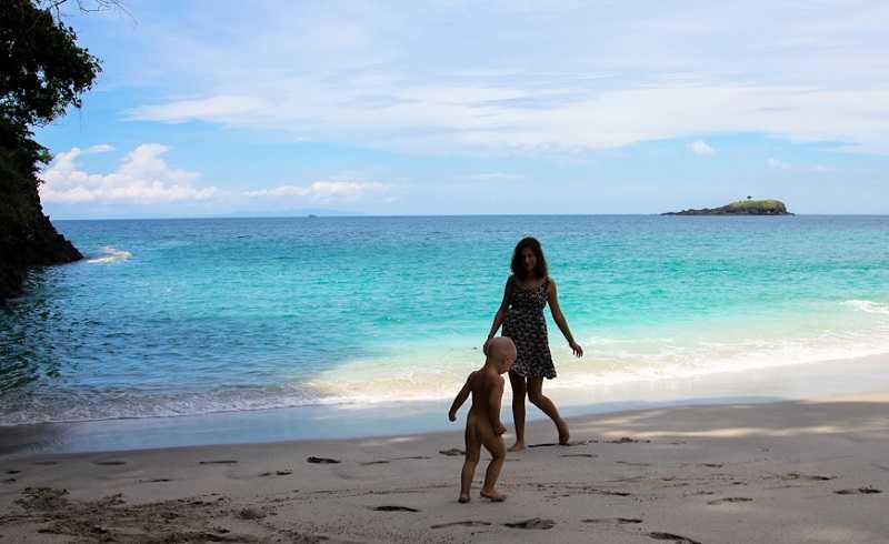 Бали пляж Гегер Бич отдых с детьми