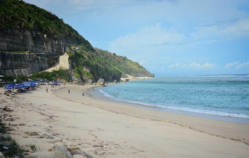 Бали пляж Пандава Бич дорожка