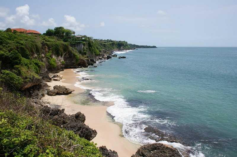 Бали пляж Пандава Бич смотровая площадка