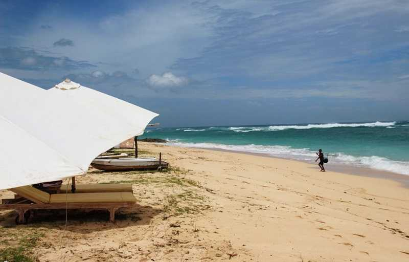 Бали пляж Пандава Бич
